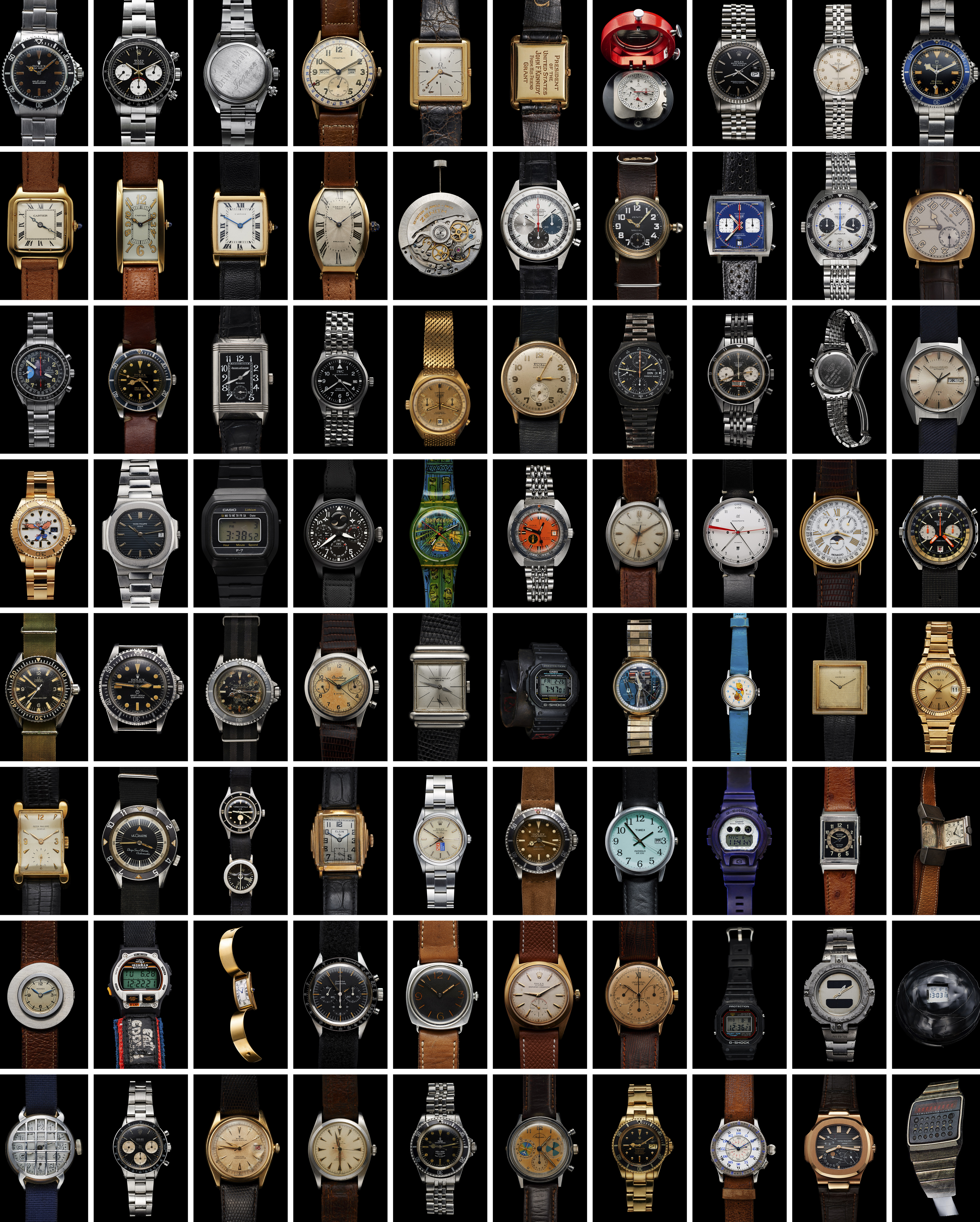 Iconic Watches 500-Piece Puzzle