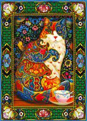 Painted Cat 1000-Piece Puzzle