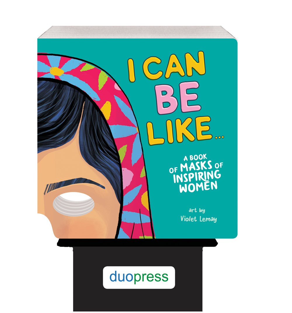 6-copy counter display I Can Be Like . . . A Book of Masks of Inspiring Women