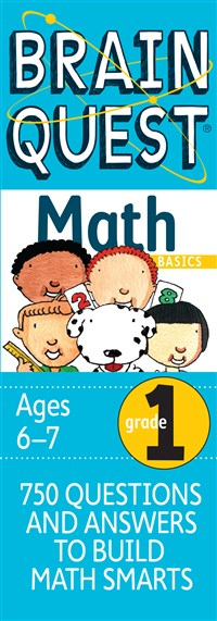 Brain Quest 1st Grade Math Q&A Cards