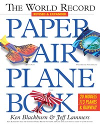 The World Record Paper Airplane Book 8-Copy Counter Display