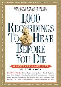 1,000 Recordings to Hear Before You Die Counter Display 12-Copy