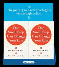 One Small Step Can Change Your Life 6 Copy Counter Display