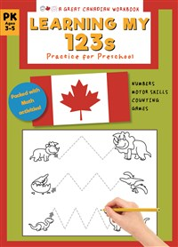 Great Canadian Workbook Learning My 123s