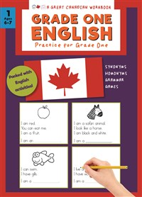 Great Canadian Workbook Grade One English