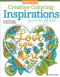 Creative Coloring Inspirations from the Heart