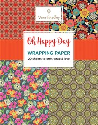 Vera Bradley Oh Happy Day Wrapping Paper