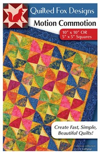 Motion Commotion Quilt Pattern