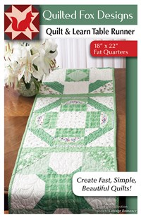 Quilt & Learn Table Runner Quilt Pattern