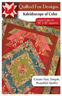 Kaleidoscope of Color Quilt Pattern
