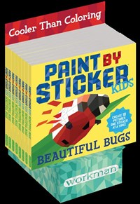 Paint by Sticker Kids: Beautiful Bugs 8-copy counter display