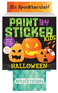 Paint by Sticker Kids: Halloween 8-copy counter display