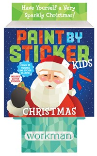 Paint by Sticker Kids: Christmas 8-copy counter display
