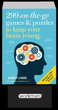 299 On-the-Go Games & Puzzles to Keep Your Brain Young 5-copy counter display