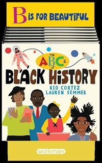 6-copy counter display The ABCs of Black History
