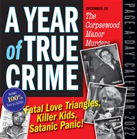 A Year of True Crime Page-A-Day Calendar 2022