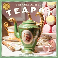 Collectible Teapot & Tea Wall Calendar 2022