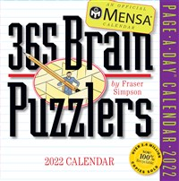 Mensa 365 Brain Puzzlers Page-A-Day Calendar 2022