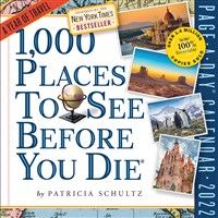 1,000 Places to See Before You Die Page-A-Day Calendar 2022
