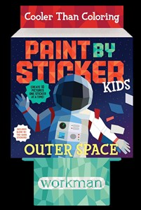 8-copy counter display Paint by Sticker Kids: Outer Space