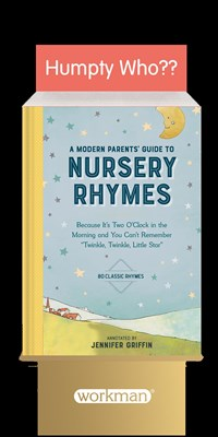6-copy counter display A Modern Parents' Guide to Nursery Rhymes