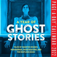 A Year of Ghost Stories Page-A-Day Calendar 2022
