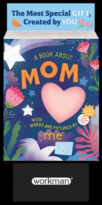6-copy counter display A Book about Mom with Words and Pictures by Me