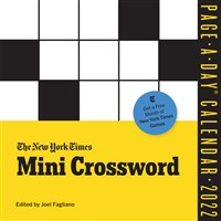 The New York Times Mini Crossword Page-A-Day Calendar for 2022