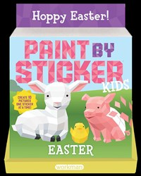 Paint by Sticker Kids: Easter 8-copy counter display