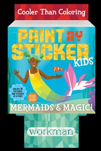 Paint by Sticker Kids: Mermaids & Magic! 8-Copy Counter Display