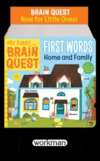 My First Brain Quest First Words: Around the Home 8-Copy Counter Display