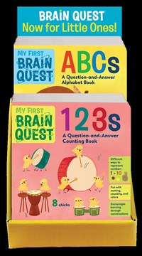My First Brain Quest ABCs & 123s 8-copy mixed counter display