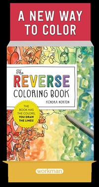 The Reverse Coloring Book 6-copy counter display