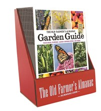 The Old Farmer's Almanac 2021 GARDEN GUIDE, COUNTER DISPLAY