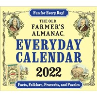 The Old Farmer's Almanac 2022 Everyday Calendar