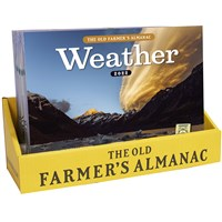 20 Copy Old Farmer's Almanac 2022 Weather Calendar Counter Display