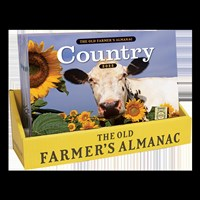 20 Copy Counter Display The Old Farmer's Almanac 2022 Country Calendar