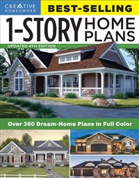 Best-Selling 1-Story Home Plans, Updated 4th Edition