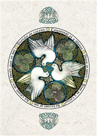Celtic Doves Boxed Holiday Greeting Cards