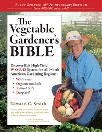 The Vegetable Gardener's Bible 10th Anniversary, 2nd Edition Counter Display 12-Copy