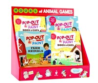Pop-Out & Paint Assorted Display