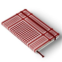 Red Kaffiyeh Pocket Journal