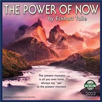 The Power of Now 2022 Wall Calendar: A Year of Inspirational Quotes