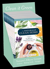 8-copy counter display The Naturally Clean Home, 3rd Edition