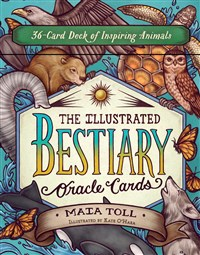 The Illustrated Bestiary Oracle Cards
