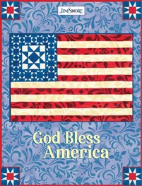God Bless America Lined Journal
