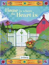 Home is Where the Heart is Lined Journal