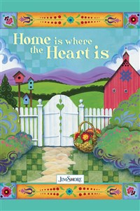 Home is Where the Heart Is Mini Notebook