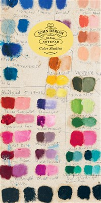 John Derian Paper Goods: Color Studies 80-Page Notepad