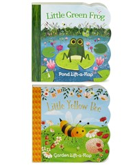 Yellow Bee and Green Frog 2 Pack